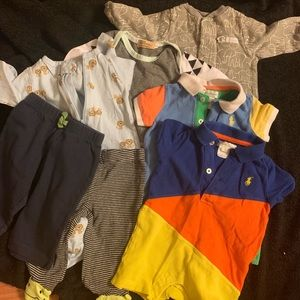 3 month baby boy bundle - 7 pieces